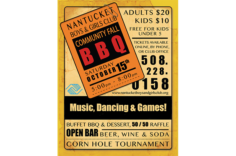 2016 BBQ Poster