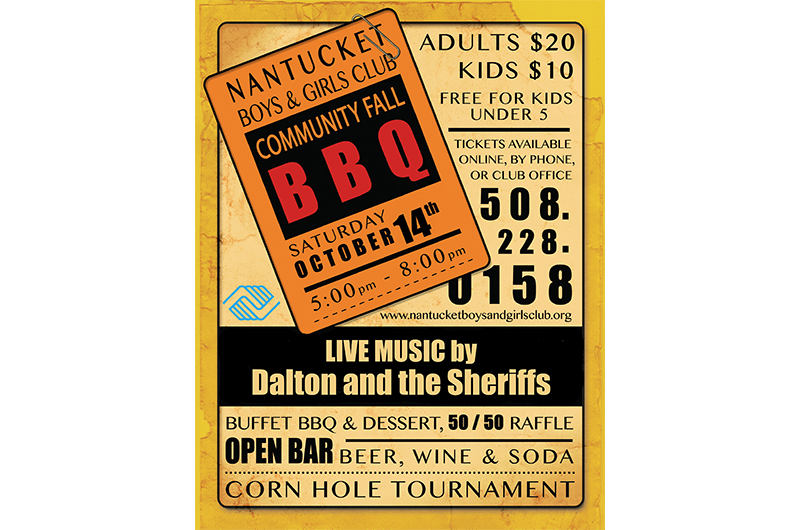 2017 BBQ Poster
