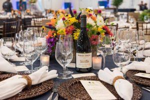 Table Setting at the Tim Russert Summer Groove 2016