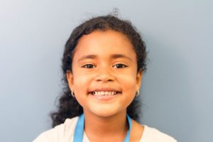 Cailyn Lopez First Grader of the Month